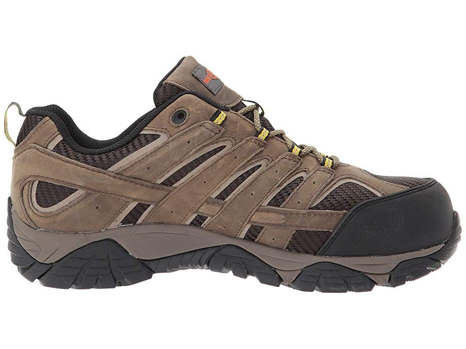 61672a5a853 Merrell Work Moab 2 Vent Waterproof CT Men's Industrial Shoes ...
