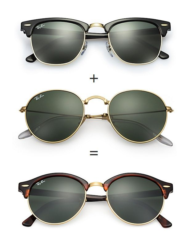 Ray-Ban Clubround #sunglasses http://www.smartbuyglasses.co.uk ...