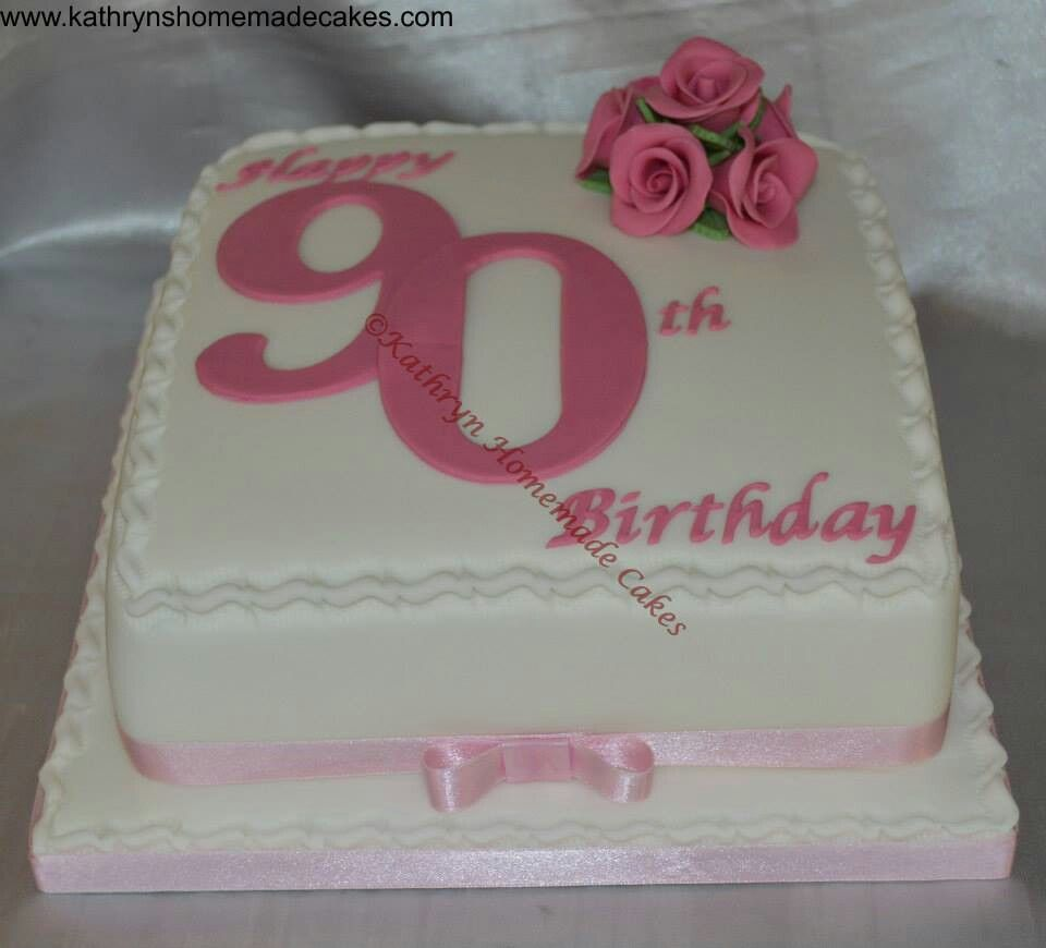 90th birthday cake gmom 39 s 90th bday party pinterest for 90th birthday cake decoration ideas