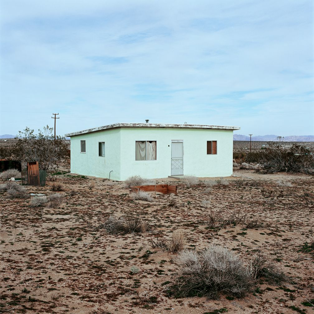 John Divola Isolated Houses
