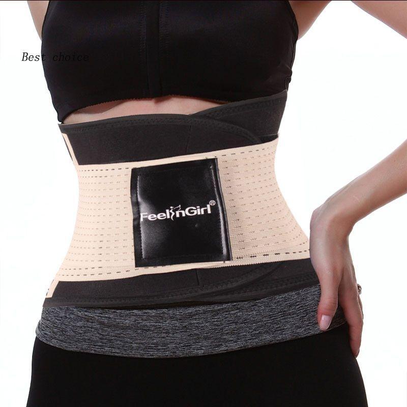 e2f7f38d810 Neoprene Waist Slimming Sports Belt Waist Trimmer Exercise Belt Burn Fat  Sauna Sweat Loss Weight Sport Girdle For Men Women -1