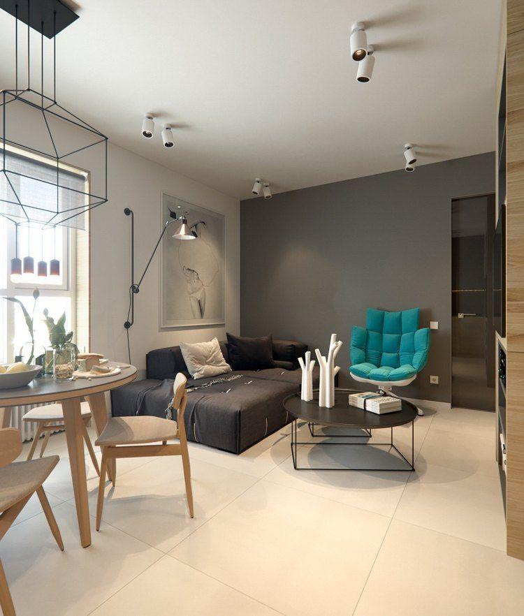 Mit diesen Tipps können Sie ein 20 qm Wohnzimmer stimmig einrichten   Wohnungseinrichtung ...