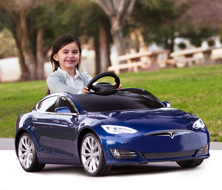 Tesla Model S For Kids By Radio Flyer Boasts The Exhilarating Performance Of A Tesla And Features The Longest Run Time And Fastest Mini Cars Tesla Model S Car