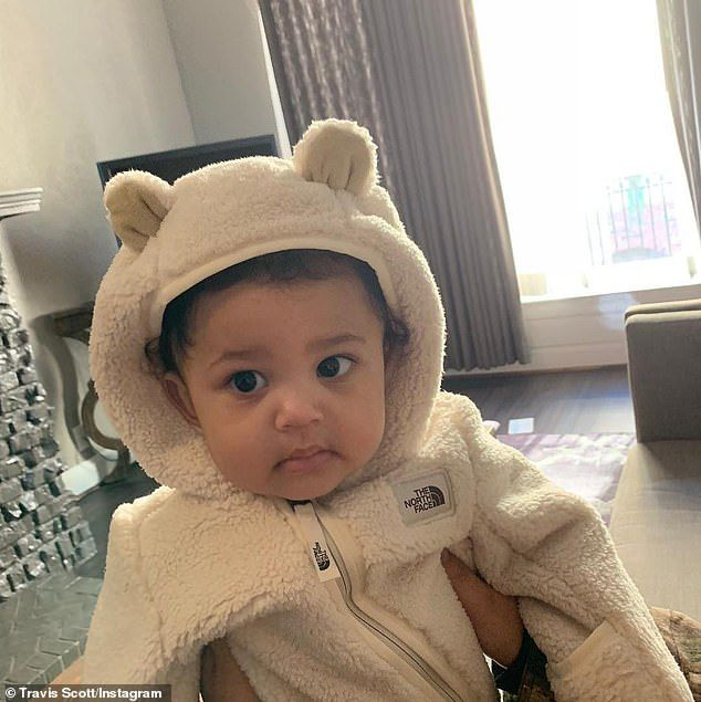 Kylie Jenner's daughter Stormi turns one
