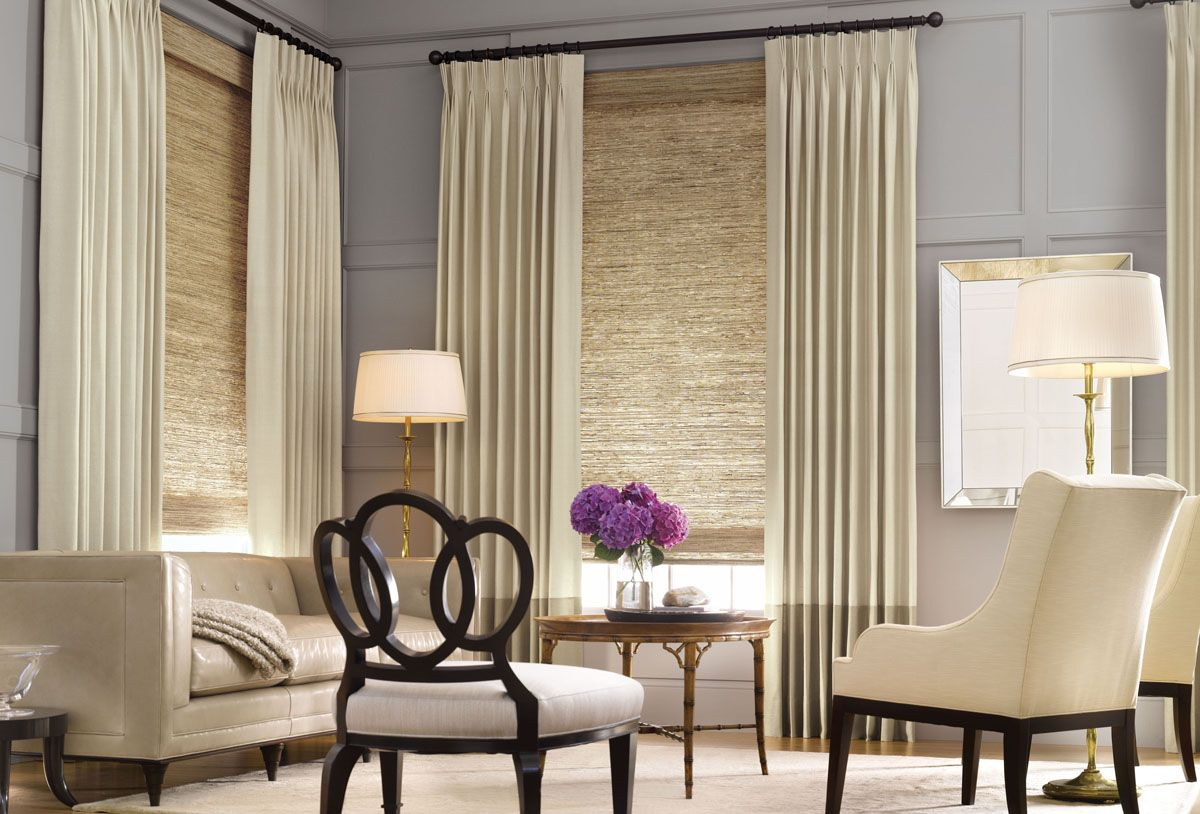 Contemporary window treatments update your home with for Modern blinds for windows
