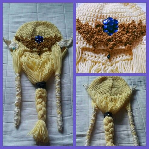 Made this for my cousin (L) Crocheted Princess zelda hat | Crochet ...