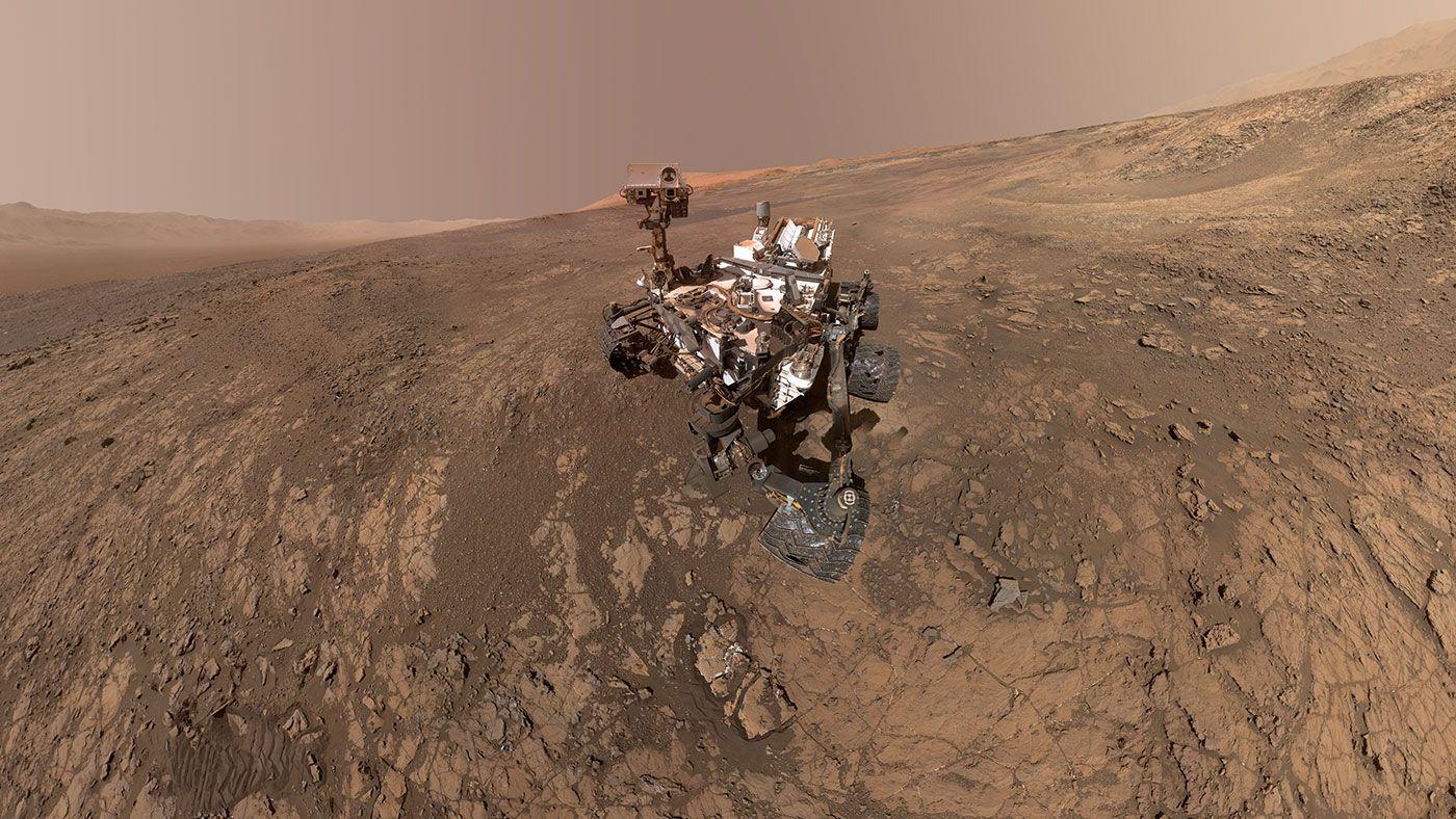 Mount Sharp Photobombs Mars Curiosity Rover Curiosity Mars Curiosity Rover Nasa Rover