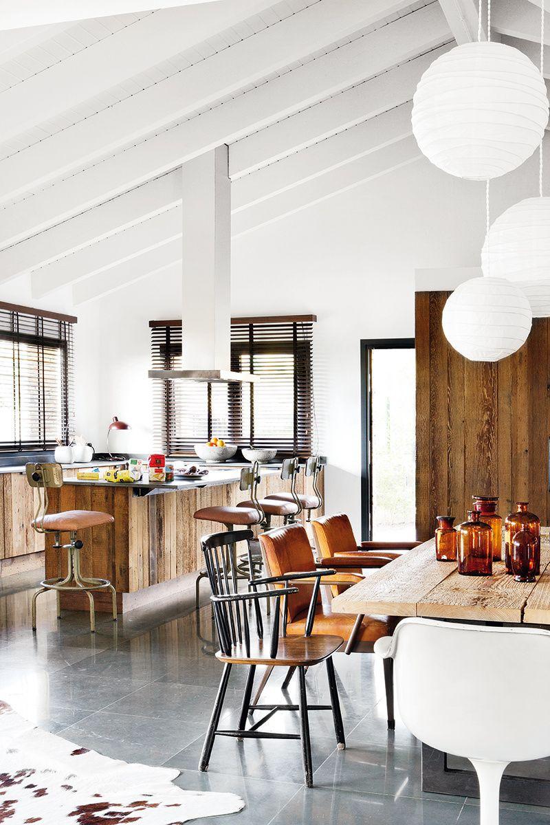 Loft en coru a inside architecture pinterest loft la casa de mis sue os y hogar - Escuela de cocina madrid casa de campo ...