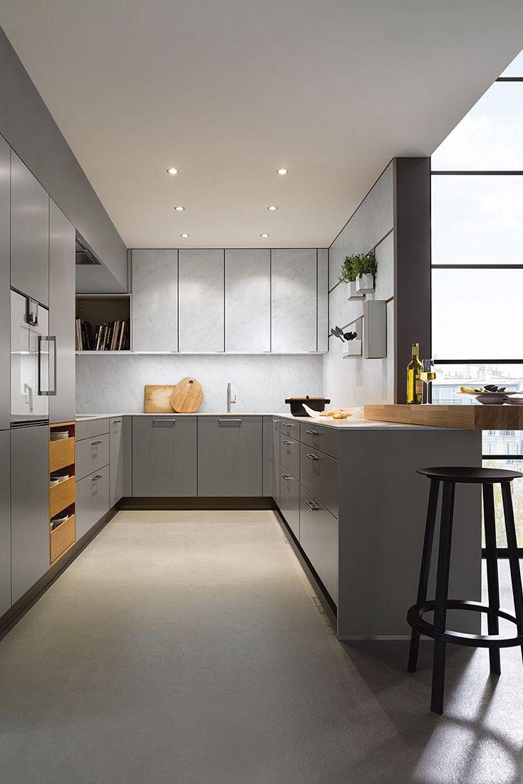 Wenig Platz für Küche, aber viel Platz in der Küche, dazu ein