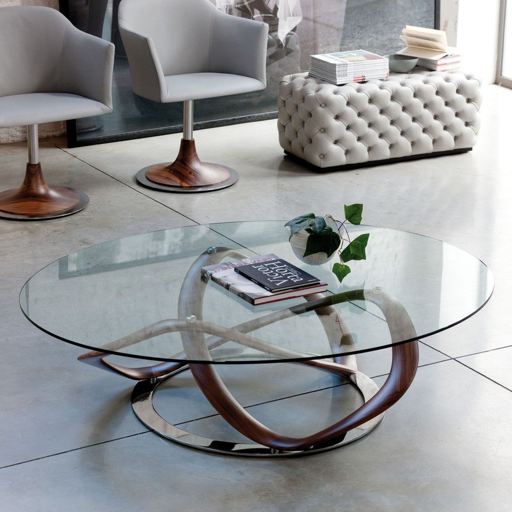 Porada Infinity Oval Coffee Table Contemporary Designer