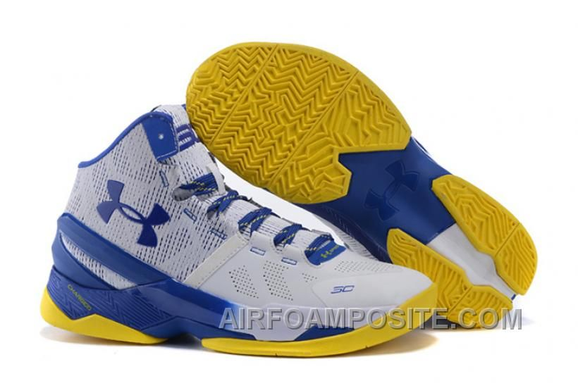 5b909932265c Buy Under Armour Curry 2 Dub Nation Home White Blue Yellow Online from  Reliable Under Armour Curry 2 Dub Nation Home White Blue Yellow Online  suppliers.