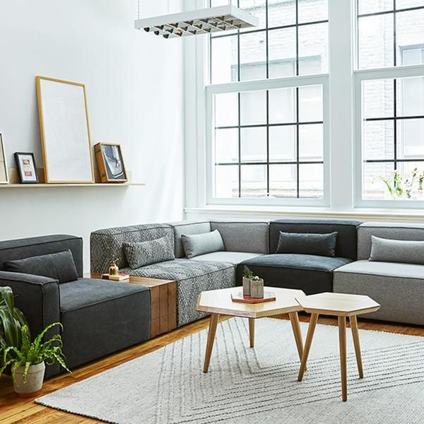 Mix Modular Sectional - Right Arm Sectional Piece in 2020 ...