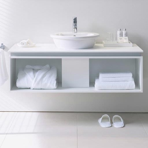 Inspiration For An All White Bathroom Duravit Darling New Above Counter Basin Bathroom Accessories Design Bathroom Solutions All White Bathroom