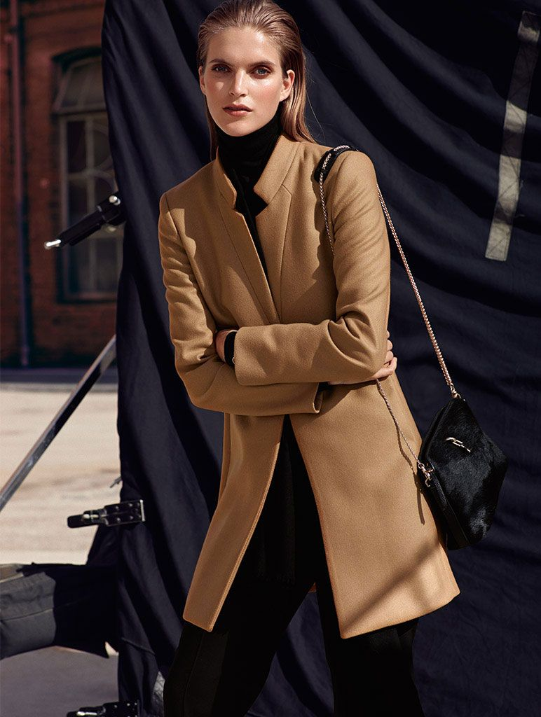 Massimo Dutti October 2014 Lookbook Goes Urban Chic