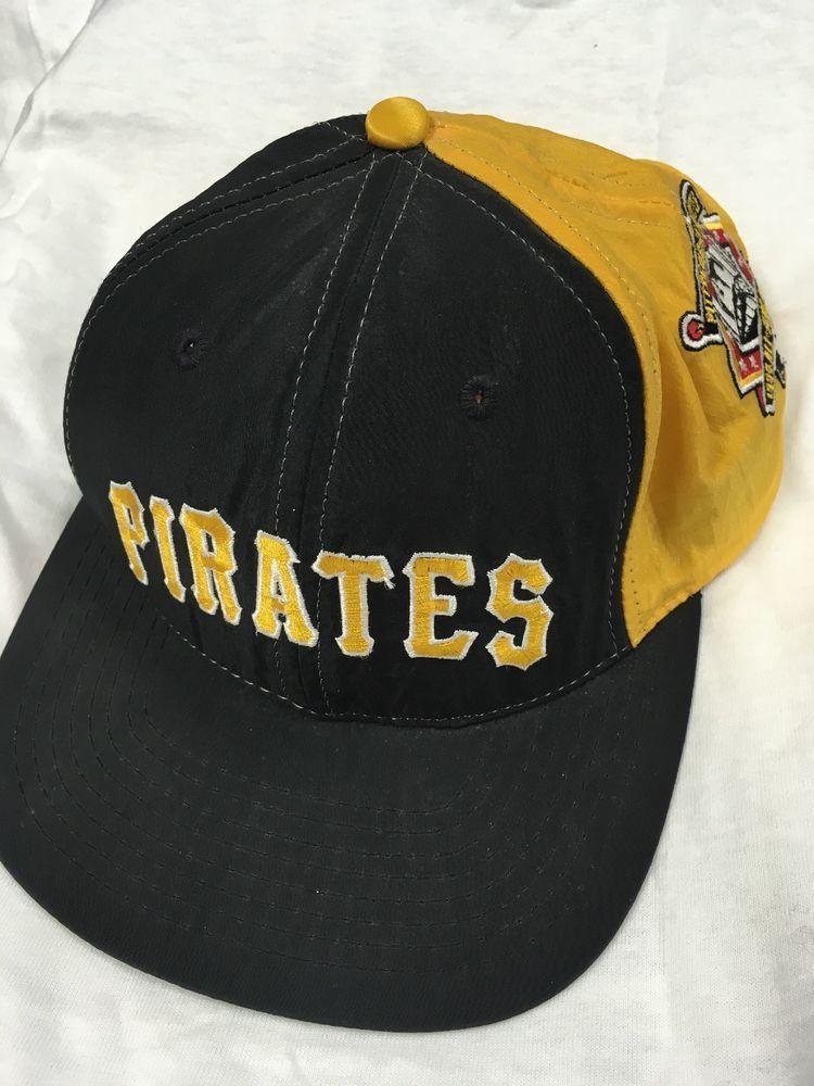 Vintage Starter Pittsburgh Pirates Snap Back Hat MLB 1994