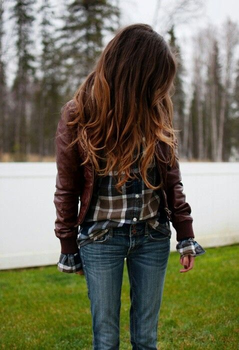 """I don't usually rock with the ombre but this color combo isn't so """"jerseylicious"""". I like it a lot for  fall :)"""