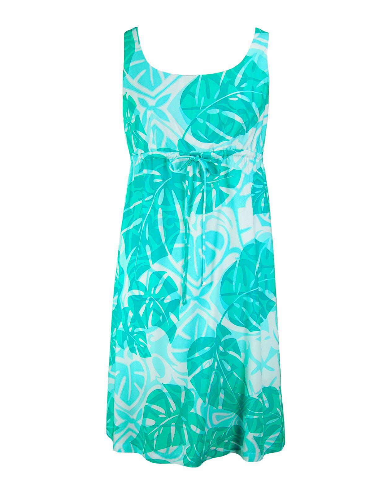 362438f08e Tropical Dream Aloha Dresses with Adjustable Front Tie : Shaka Time Hawaii  Clothing Store #hawaiian #dresses