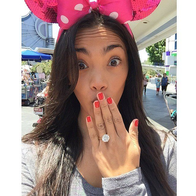 You Ll Want To Take A Closer Look At Rob Dyrdek S Fiancee S Massive Engagement Ring Most Expensive Engagement Ring Expensive Engagement Rings Engagement Rings