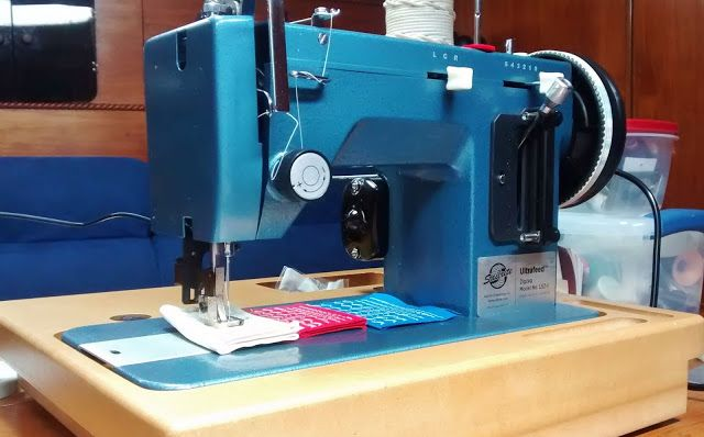 Comparison Of Sailrite Reliable Barracuda And Other Look Alike Adorable Portable Industrial Sewing Machine