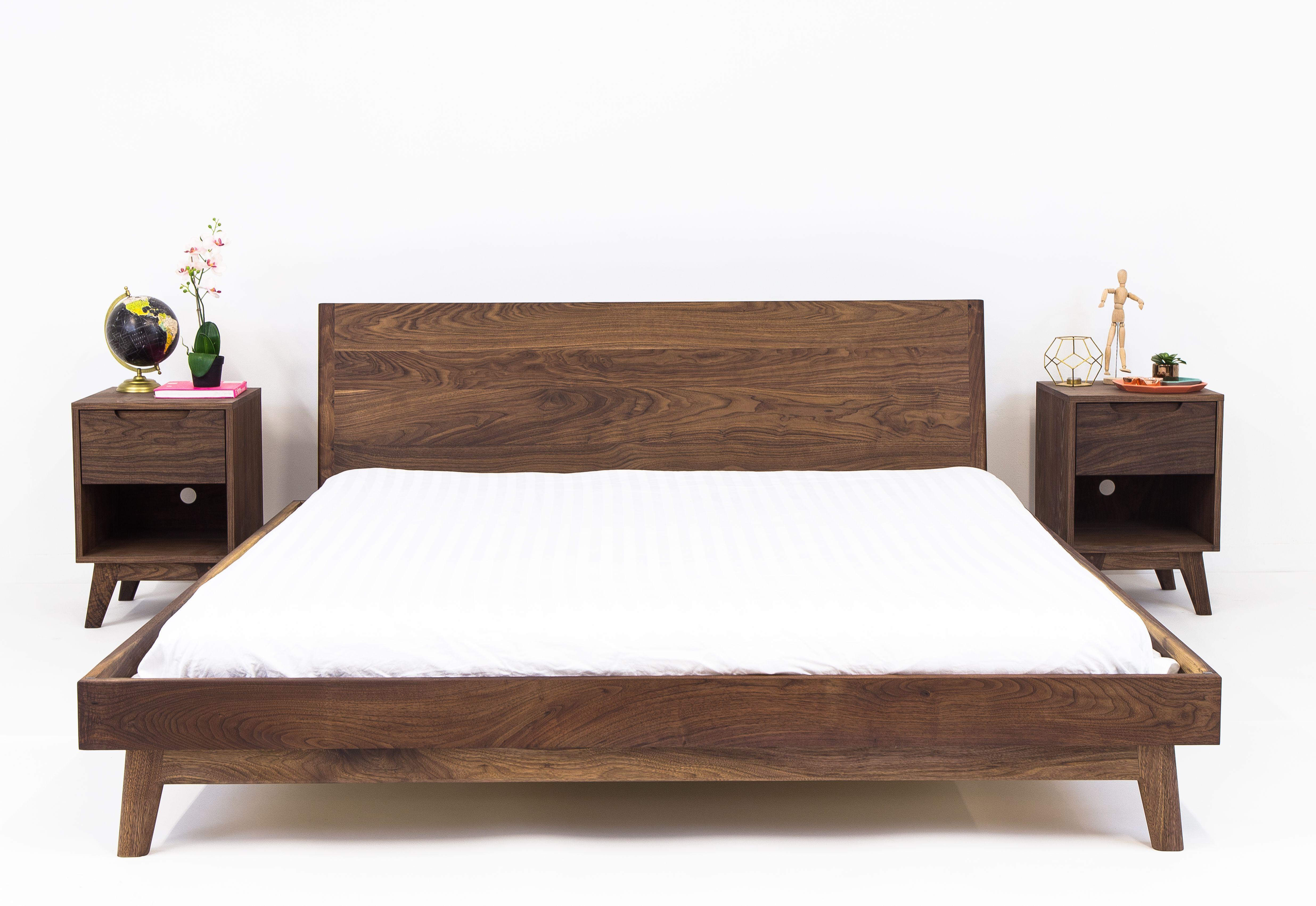 Best Custom Made The Bosco Mid Century Modern Solid Walnut 400 x 300