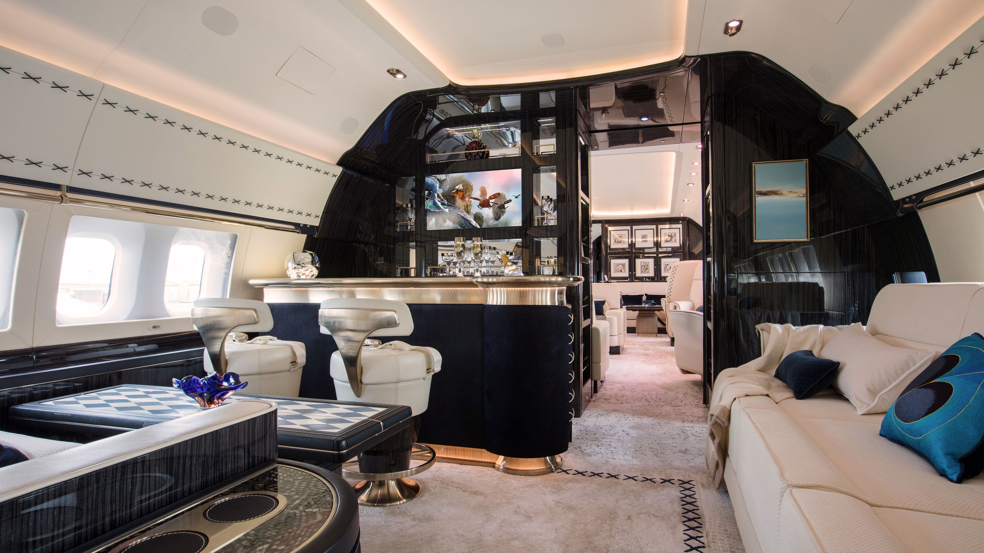3 D Printing Technology Robb Report Private Jet Interior Luxury Private Jets Private Jet