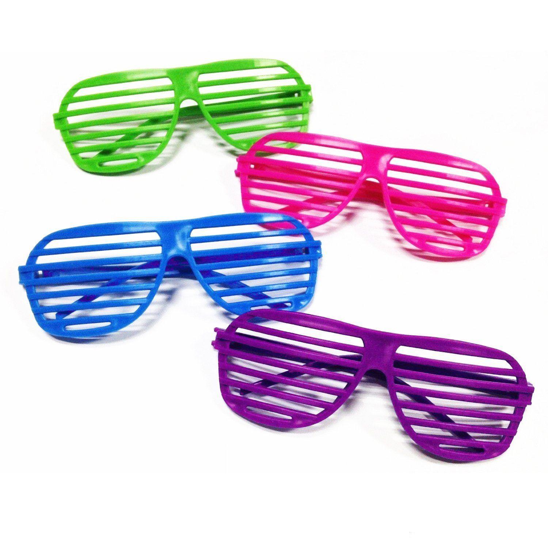 Rhode Island Novelty 24 Pairs of 80's Sunglasses Party Favors twLWKXpXk1