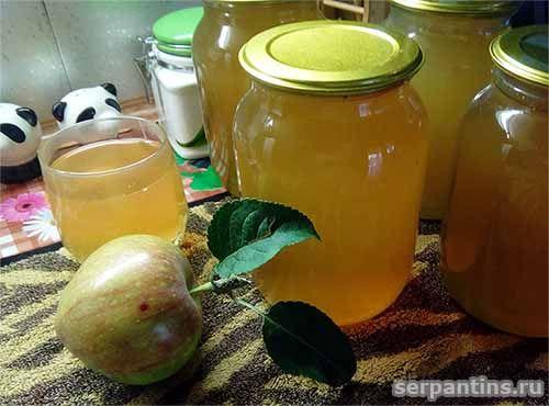 Заготовка яблочного сока на зиму без сахара (с ...