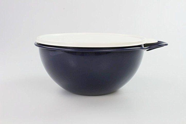 TUPPERWARE Maximilian 2,75 L Rührschüssel Salatbar Maxima dunkelblau - dunkelblaue kche