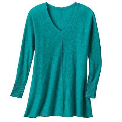 Samantha Brown Sonora V-Neck Sweater - TravelSmith