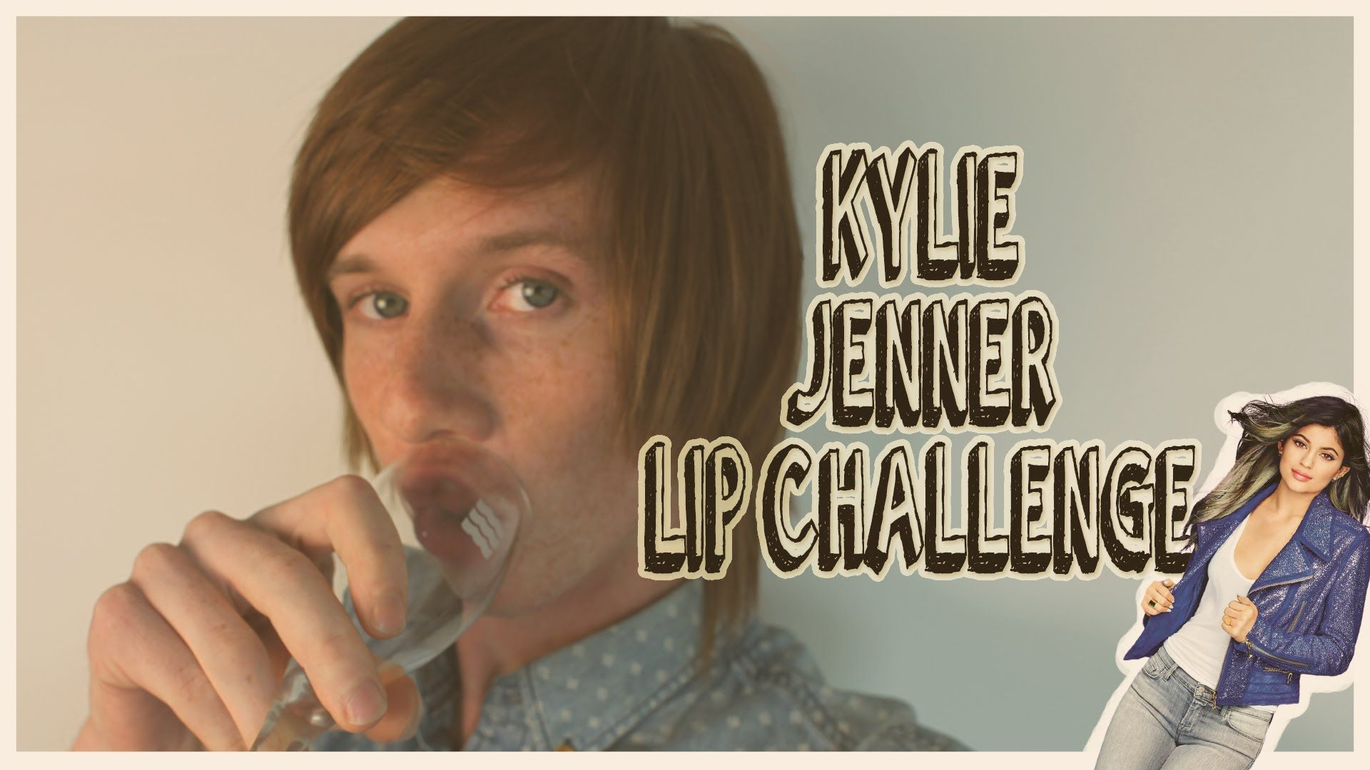 kylie jenner lip challenge instructions