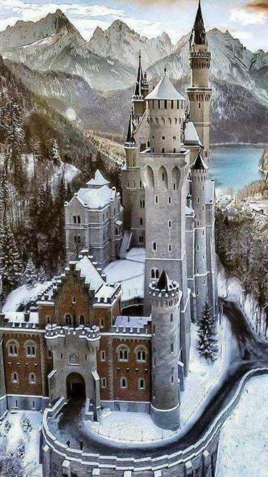 Pin By Bernd Uwe Schulz On Maravilhas Mundiais Neuschwanstein Castle Incredible Places Castle