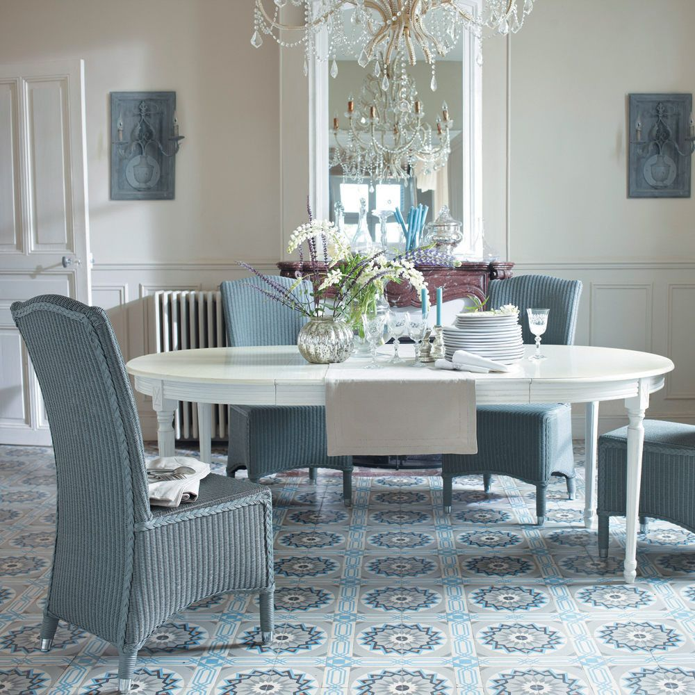 Tavolo rotondo allungabile bianco 4 a 8 persone 120/200 cm