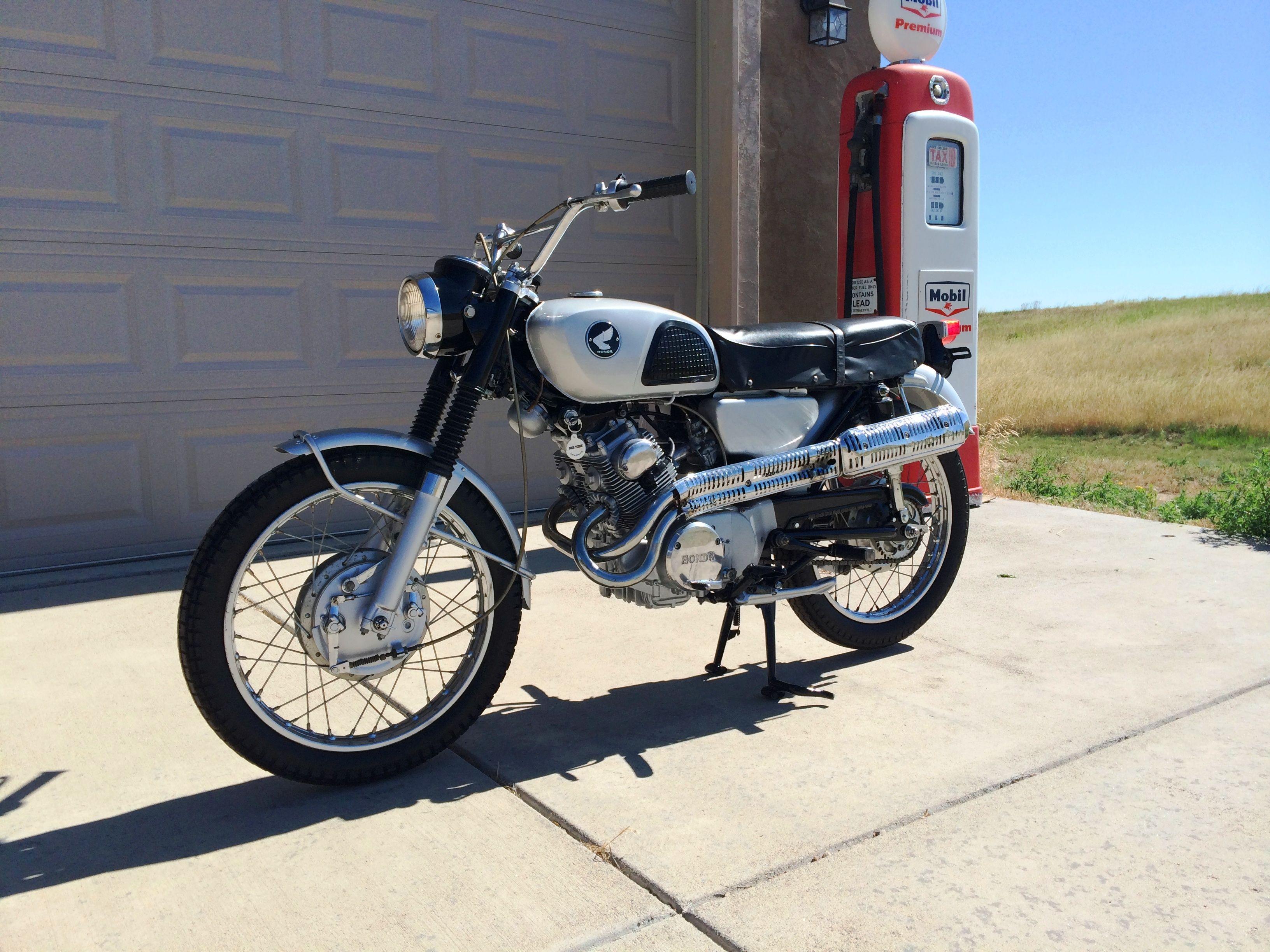 1966 Honda Cl160 Scrambler 160cc W 4spd Transmission Honda Motorcycles Vintage Honda Motorcycles Cafe Racer Honda [ 2448 x 3264 Pixel ]