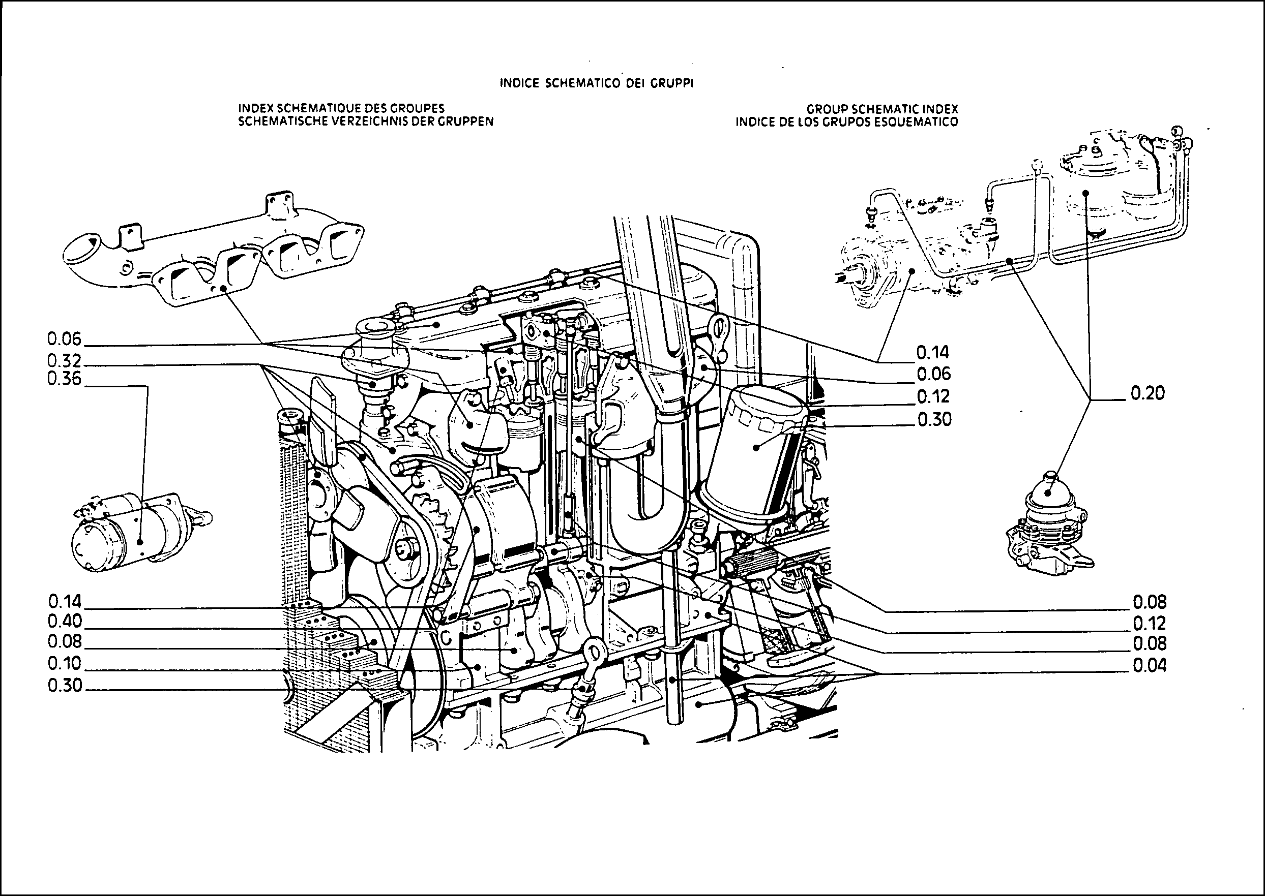 Fiat 466-466DT Parts Manual for Service Tractor Repair in