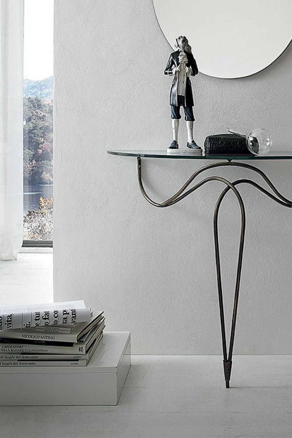 Classic Wrought Iron Console Table Nilo By Target Point Metal