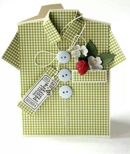 Tarjeta camisa