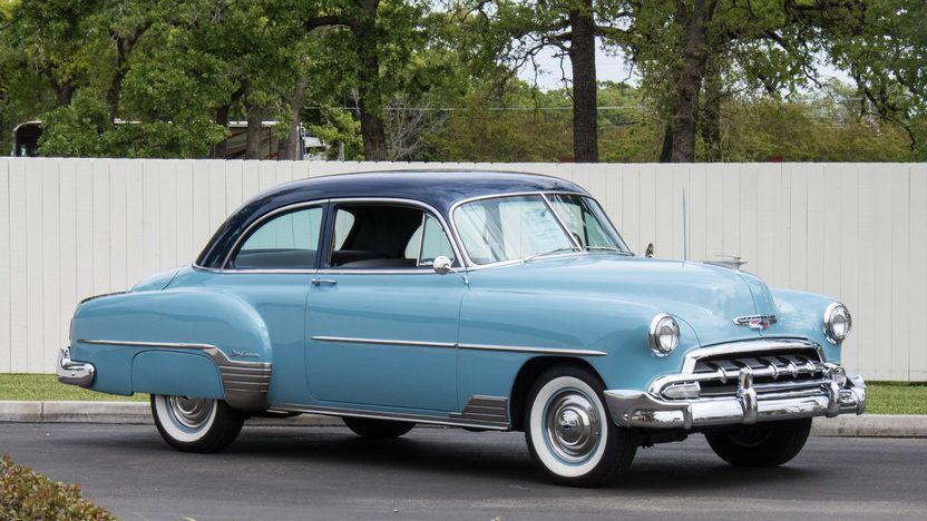 1952 Chevrolet Styleline Deluxe 2 Door Sedan Chevrolet Sedan Chevrolet Classic Cars