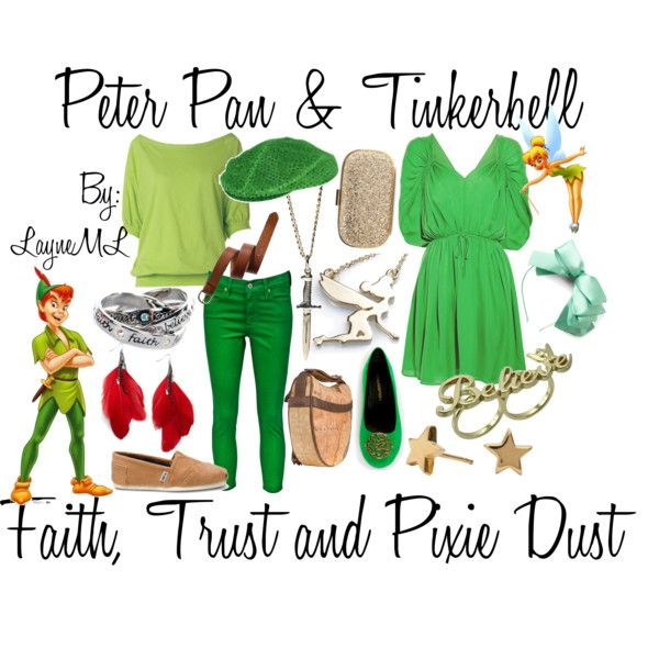 Peter Pan and Tinkerbell, created by layneml.polyvore.com