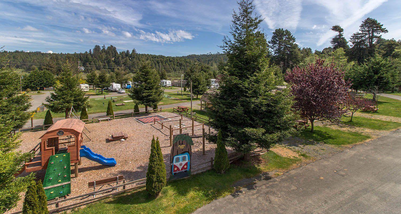 Redwood Coast Cabins And Rv Resort Between Eureka And Arcata Crescent City Eureka Redwood