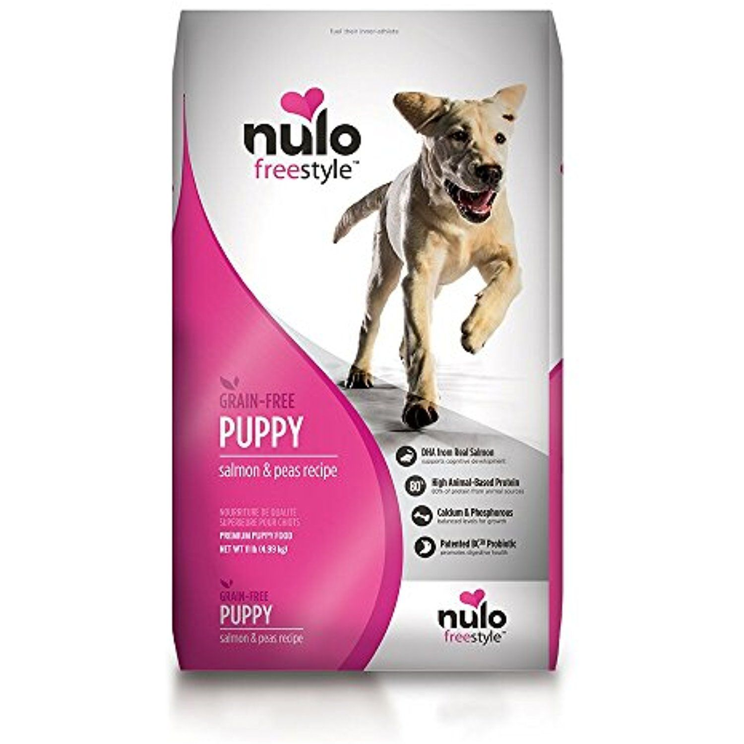 Nulo Puppy Food Grain Free Dry Kibble With Bc30 Probiotic And Dha
