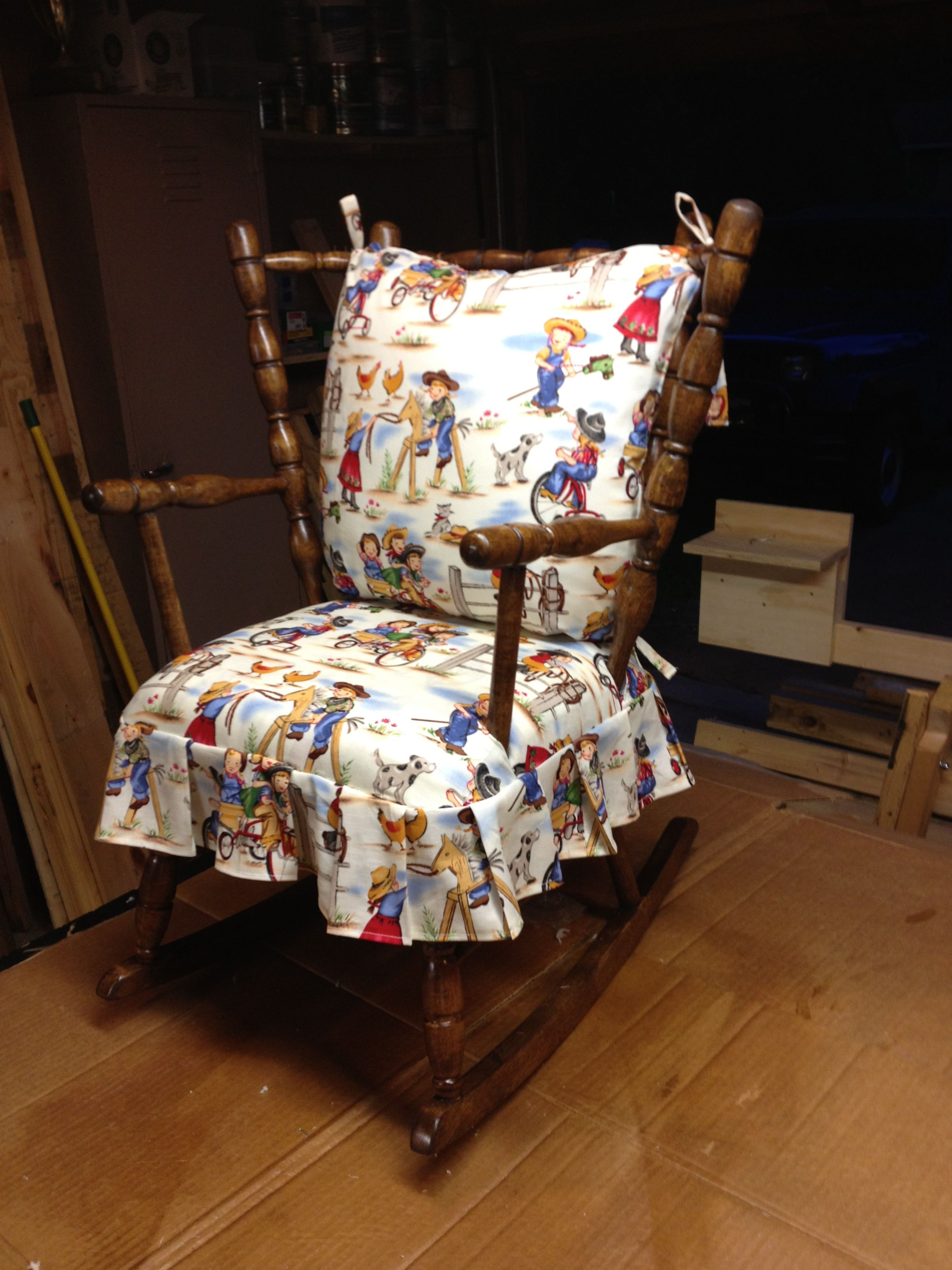 Restored Child S Rocking Chair Completed Projects In