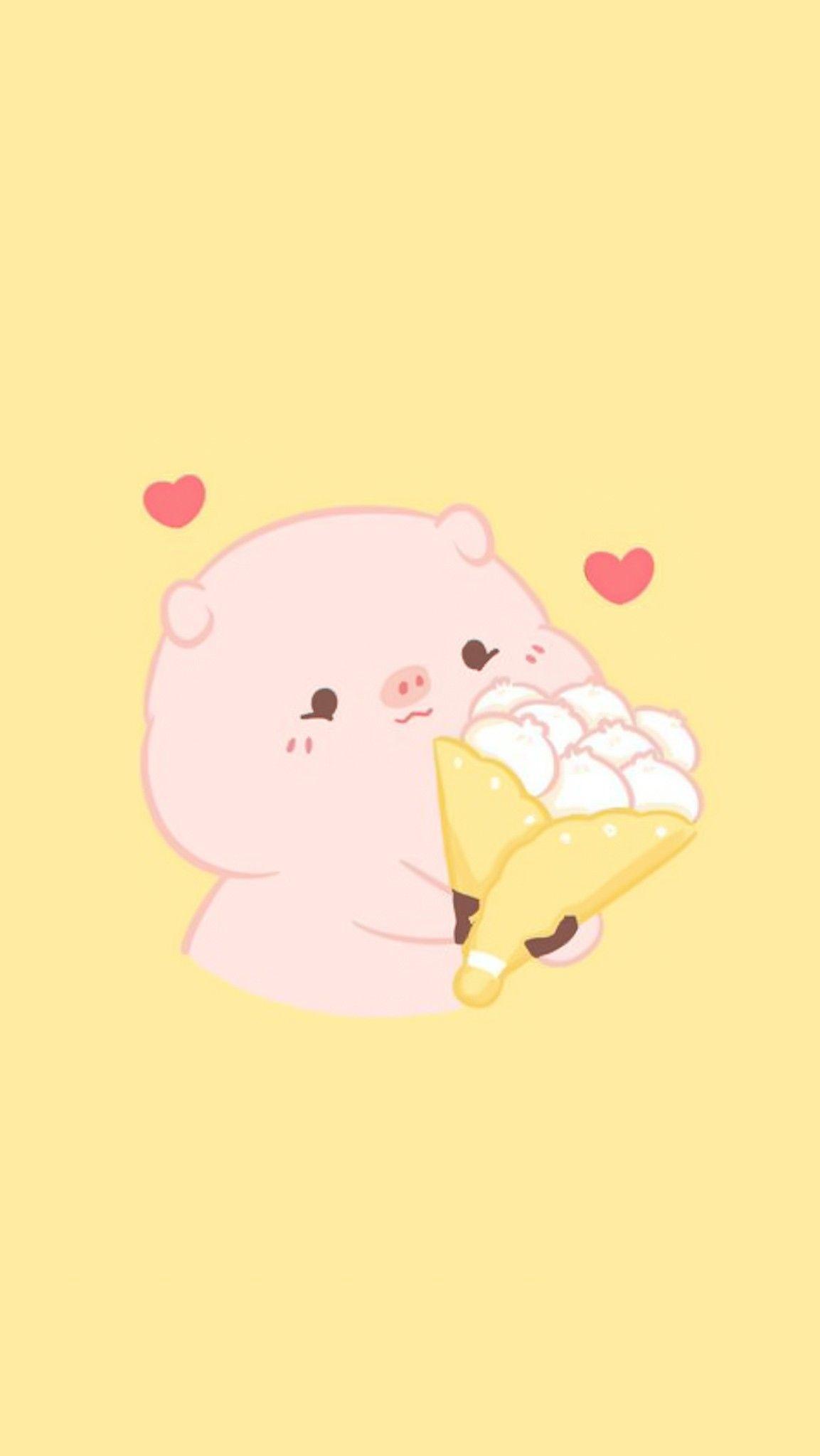 Pin By Mel On Bg Ct Cute G In 2020 Cute Cartoon Wallpapers Cute Wallpapers Pig Wallpaper