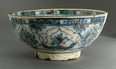 Bowl iran 18th 19th century lacma collection doble for Oxidos para ceramica