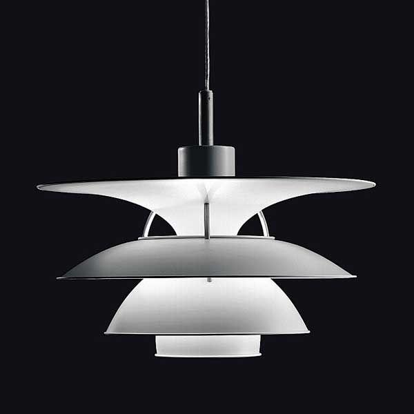 PH 5-4 1/2 pendant lamp by Poul Henningsen, Christensen & Frandsen - Louis Poulsen  #Danish Design #Scandinavian Design #  Lighting