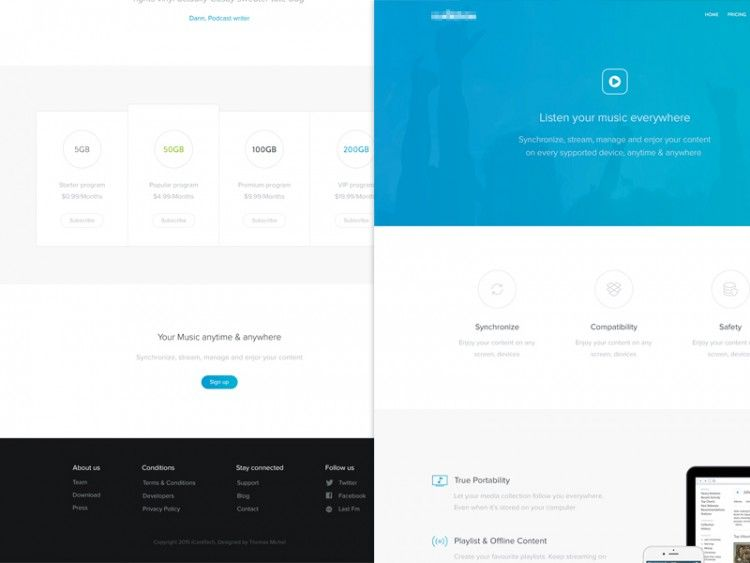Minimalist Web Design Principles Best Practices And Examples Minimalist Web Design Web Design Landing Page