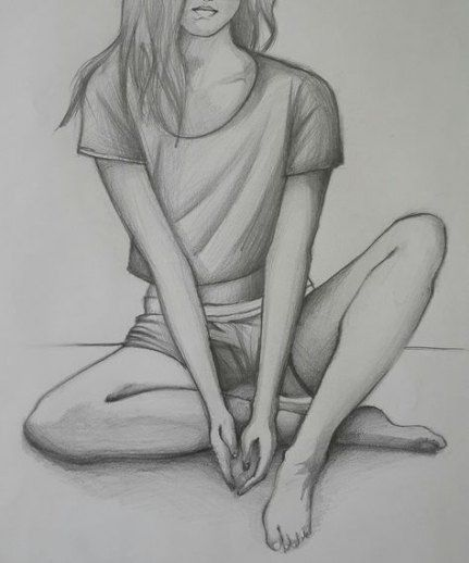 60 Simple Pencil Drawing Sketch Exercise Page 42 Of 61 Risunok Baleriny Risunki Hudozhestvennye Risunki