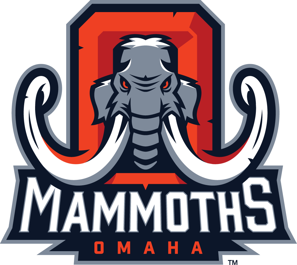Omaha Mammoths Primary Logo (2014) -