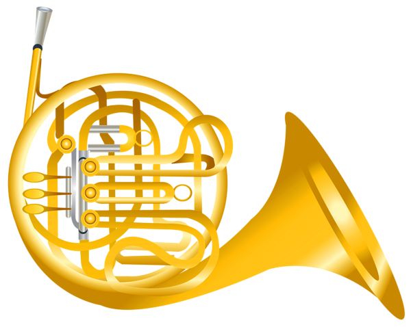 French Horn Transparent Png Clipart Clip Art French Horn Transparent
