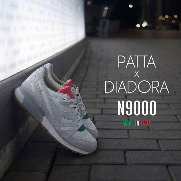 Patta x Diadora N9000
