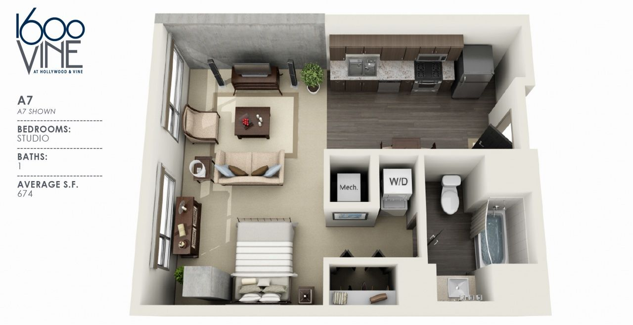 2 Bedroom Apartments For Rent In Los Angeles 1 Bedroom Apartment Renting A House Bedroom House Plans